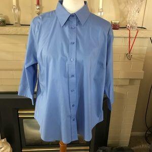 🆕 Lady Hathaway Blue Shirt.